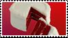 - Stamp: Red velvet cake. - by ChicaTH