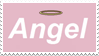 - Stamp: Angel. - by ChicaTH