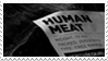 - Stamp: Human meat. - by ChicaTH