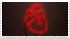- Stamp: Glowing heart. - by ChicaTH