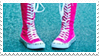 - Stamp: Pink sneaker boots. - by ChicaTH
