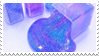 - Stamp: Galaxy slime. - by ChicaTH