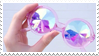- Stamp: Kaleidoscope glasses. - by ChicaTH