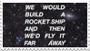 - Stamp: We would build a rocket ship... - by ChicaTH