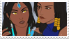 - Stamp: Symmetra x Pharah. - by ChicaTH