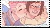 - Stamp: Zarya x Mei. - by ChicaTH