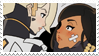 - Stamp: Mercy x Pharah. - by ChicaTH