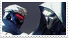 - Stamp: Soldier 76 x Reaper. - by ChicaTH