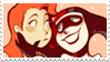 - Stamp: Poison Ivy x Harley Quinn. - by ChicaTH
