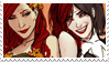 - Stamp: Poison Ivy x Harley Quinn (3). - by ChicaTH