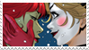 - Stamp: Poison Ivy x Harley Quinn (7). - by ChicaTH