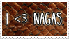 - Stamp: I love nagas. - by ChicaTH