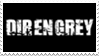 - Stamp: DIR EN GREY. - by ChicaTH