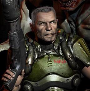 Doom Sarge by AmDDRed