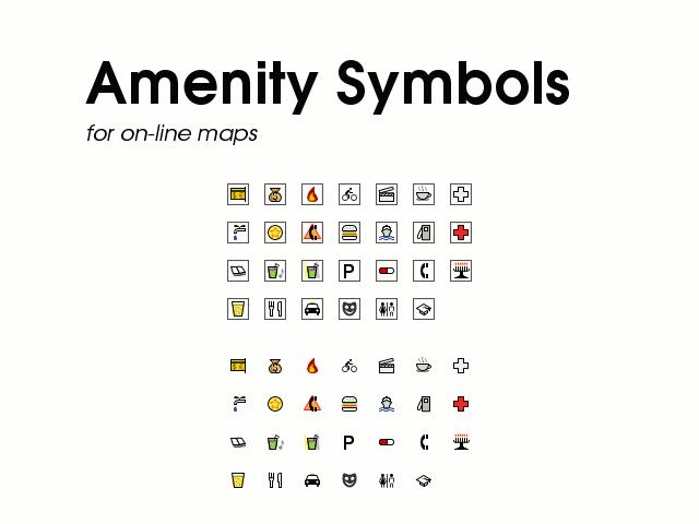 Amenity Symbols By Techtoucian On Deviantart