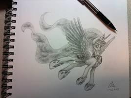 Sketch of Luna
