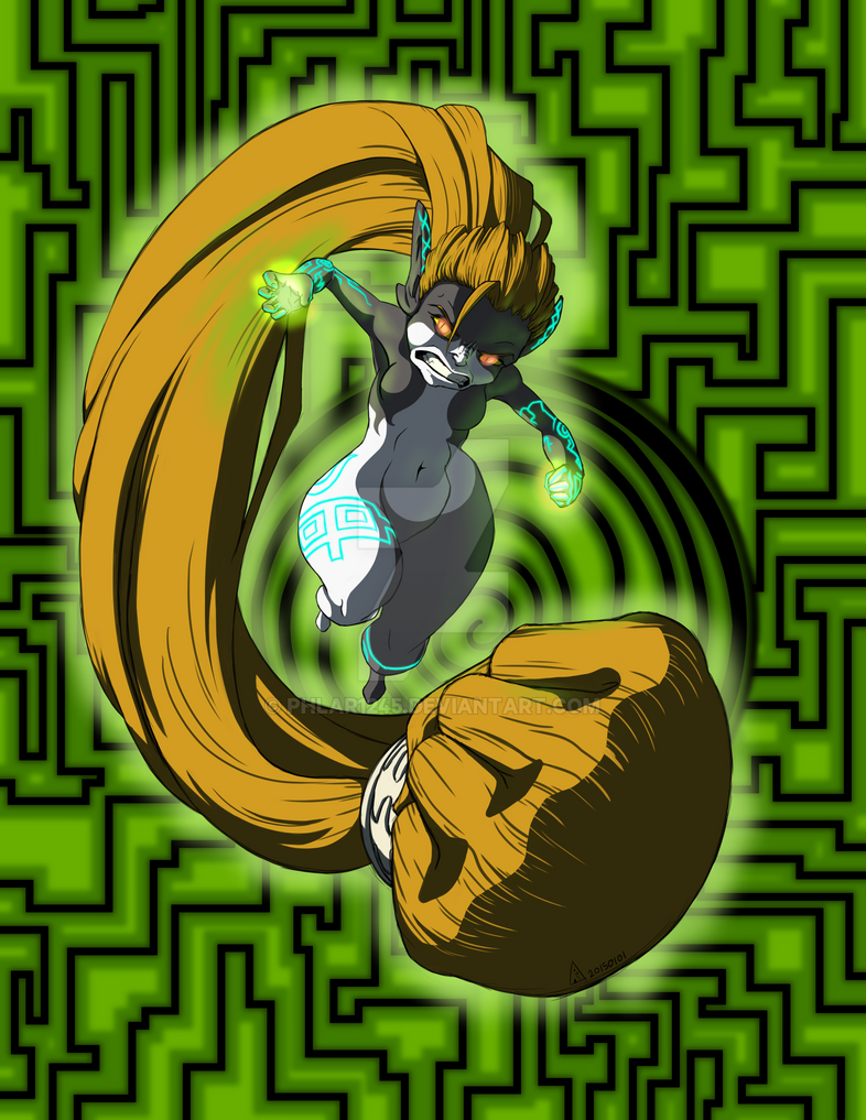 Angry Midna by Phlar1245