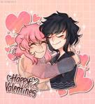Happy Valentines! OC | Cody and Raeya