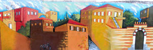 Graffiti Chios Korai Street