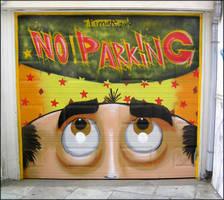 Graffiti - Garage Door by CanteRvaniA
