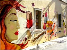 Graffiti - Hondos Center by CanteRvaniA