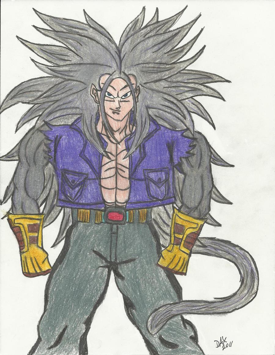 Trunks Super Saiyan 5 by DaimyoDax on DeviantArt