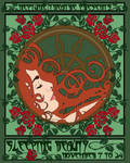 Sleep Beauty Mucha Style by freaksmg