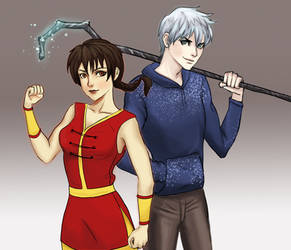 Ranma and Jack by vesoliyrodger183
