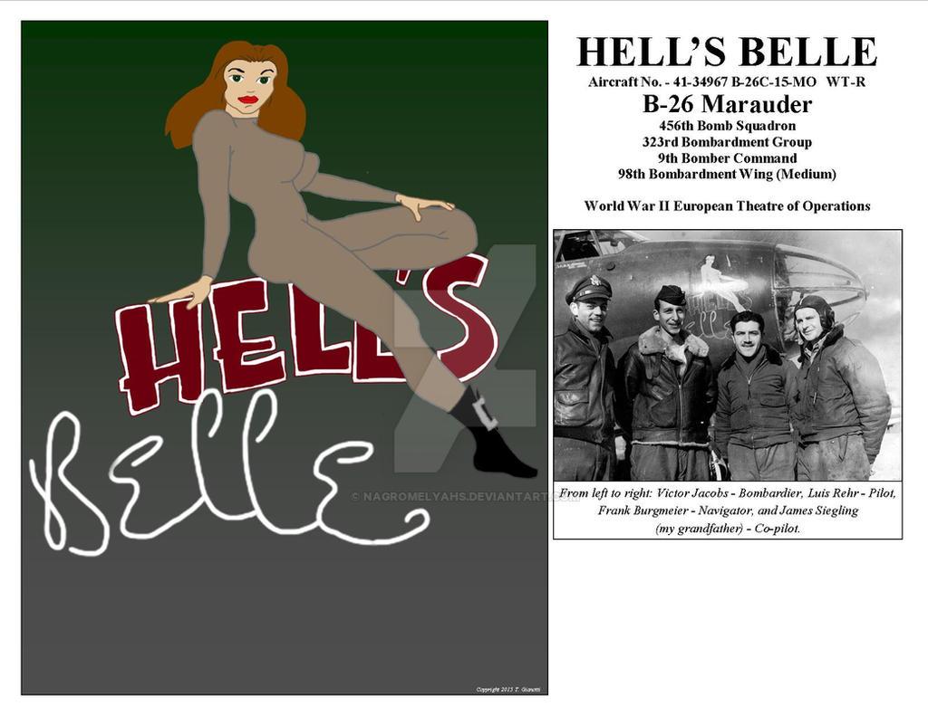 Hell's Belle B26 Marauder by nagromelyahs