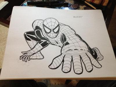 Spider-Doodle by joesmithrealname