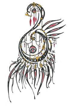 Kentaurii amulet tattoo