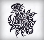 Ninetails Tribal Tattoo [Remix] by Skrayle