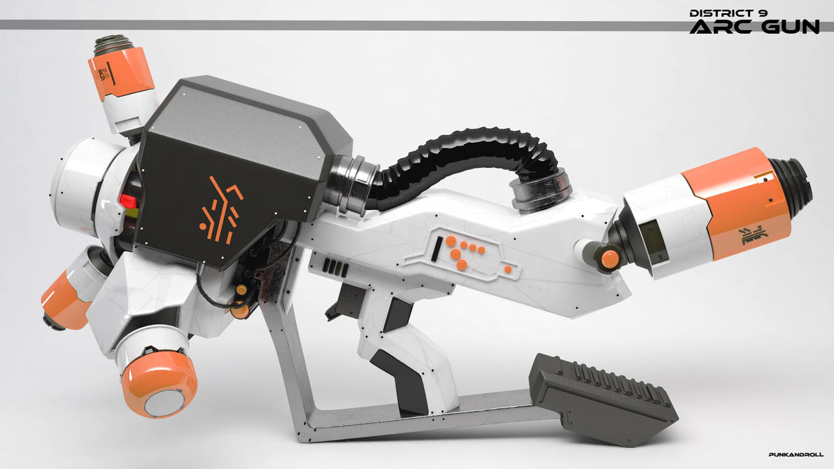 DISTRICT 9 ARC GUN-6 by punkandroll