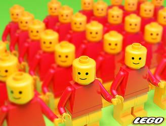 LEGO ARMY by punkandroll