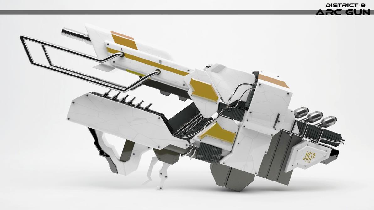 DISTRICT 9 ARC GUN-10 by punkandroll