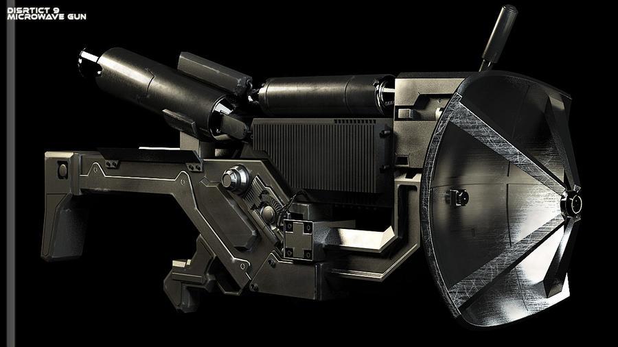 microwave gun by punkandroll