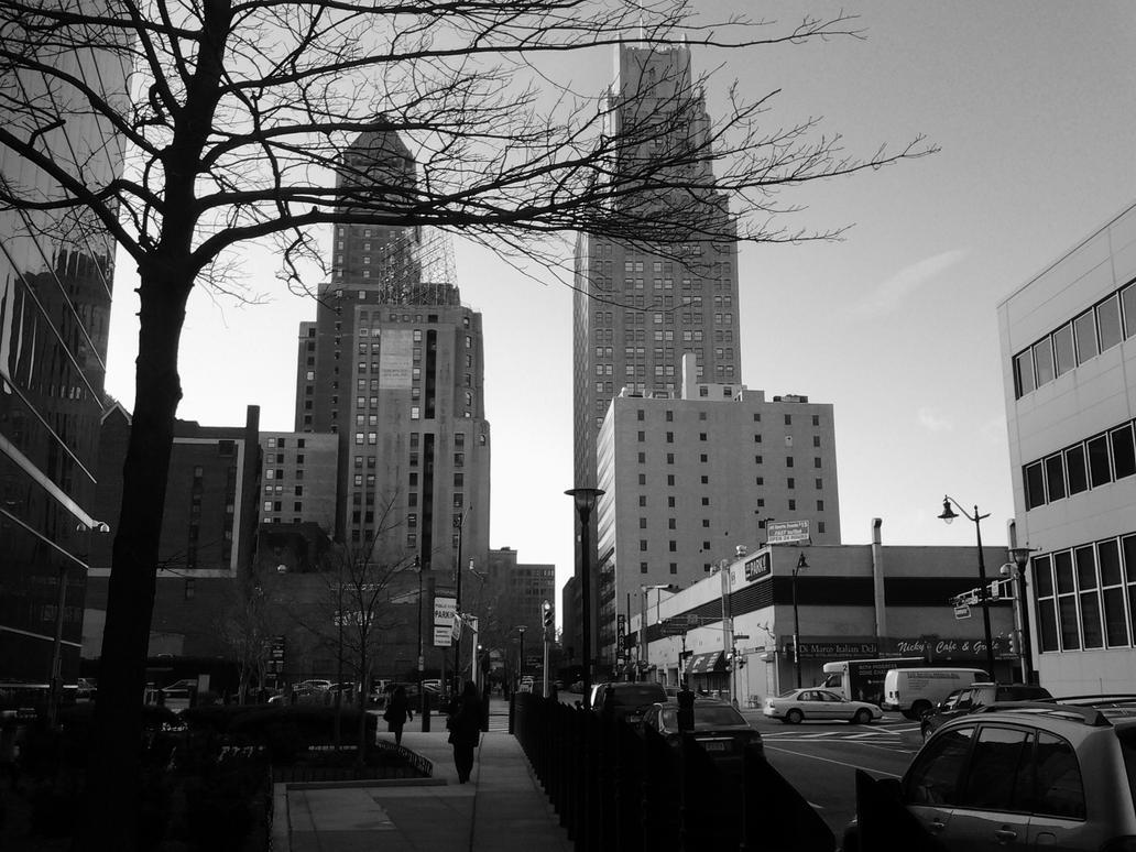 Downtown Newark NJ by TEAM-WANCHI-FURY