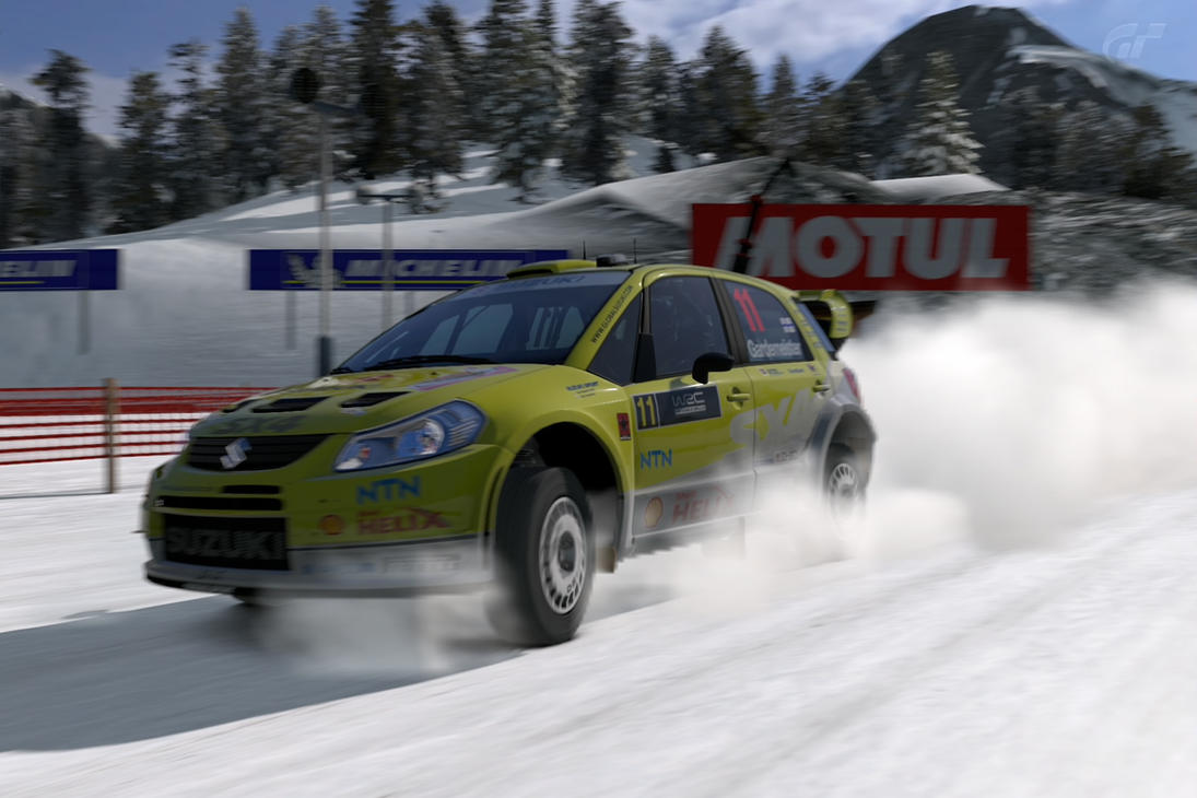 Suzuki SX4 WRC by TEAM-WANCHI-FURY