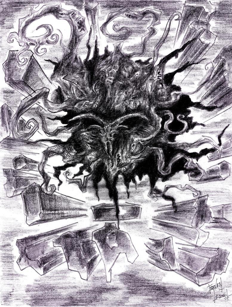 Shub Niggurath by CorvenIcenail