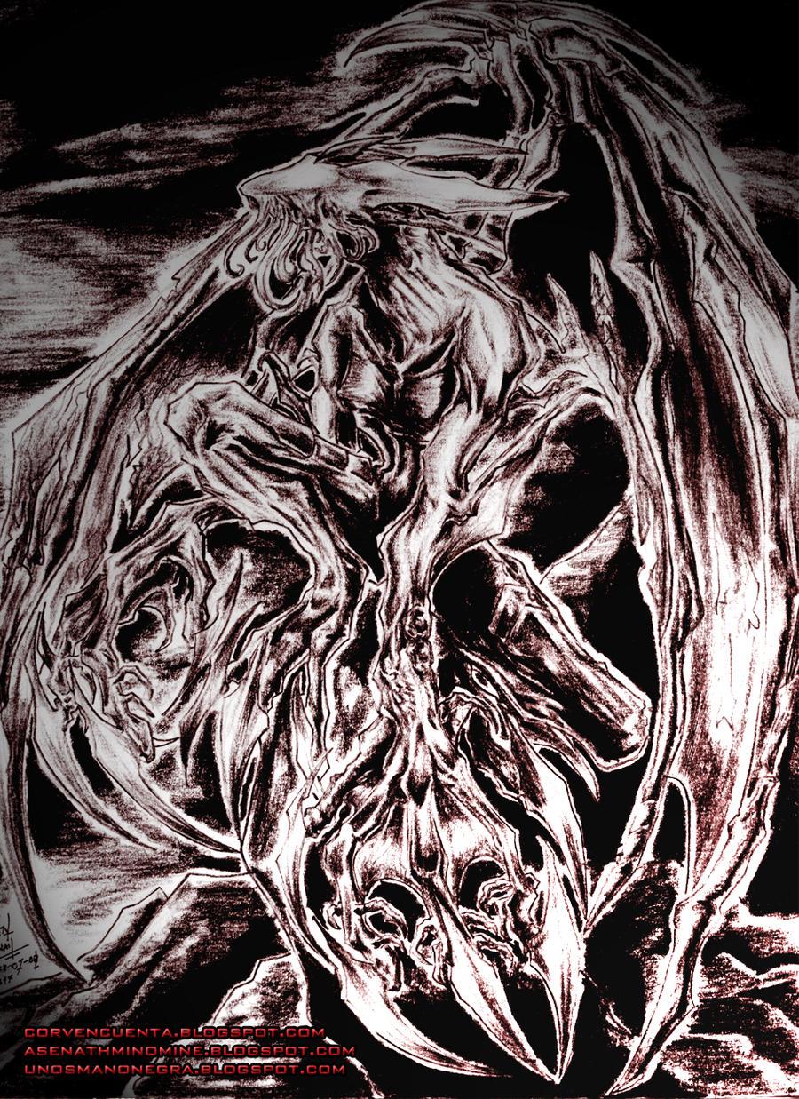 Nightgaunt by CorvenIcenail