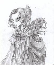Sheeana Brugh (Heretics of Dune) by CorvenIcenail
