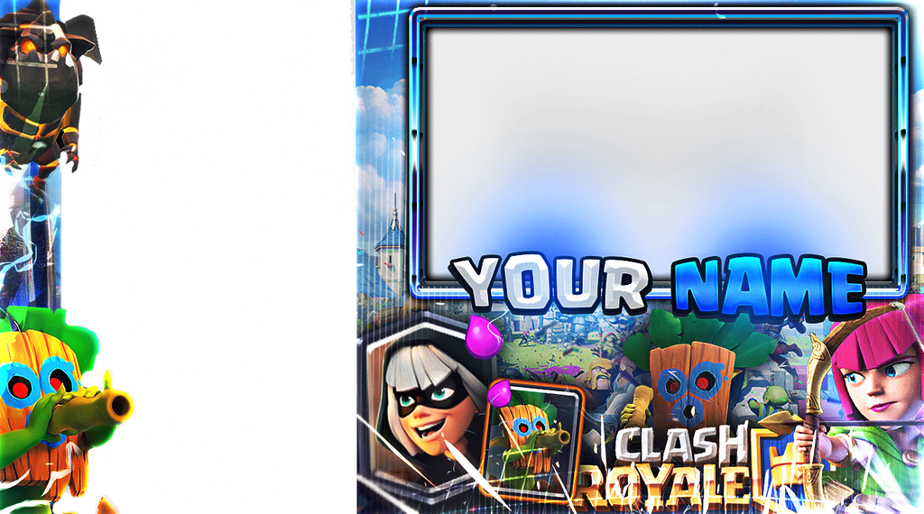 Overlay Editable De Clash Royale By Josemidesigns On Deviantart