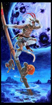 Monkey-king Touher
