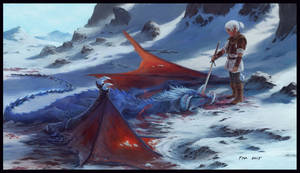 Witcher : First Blood by studiotou