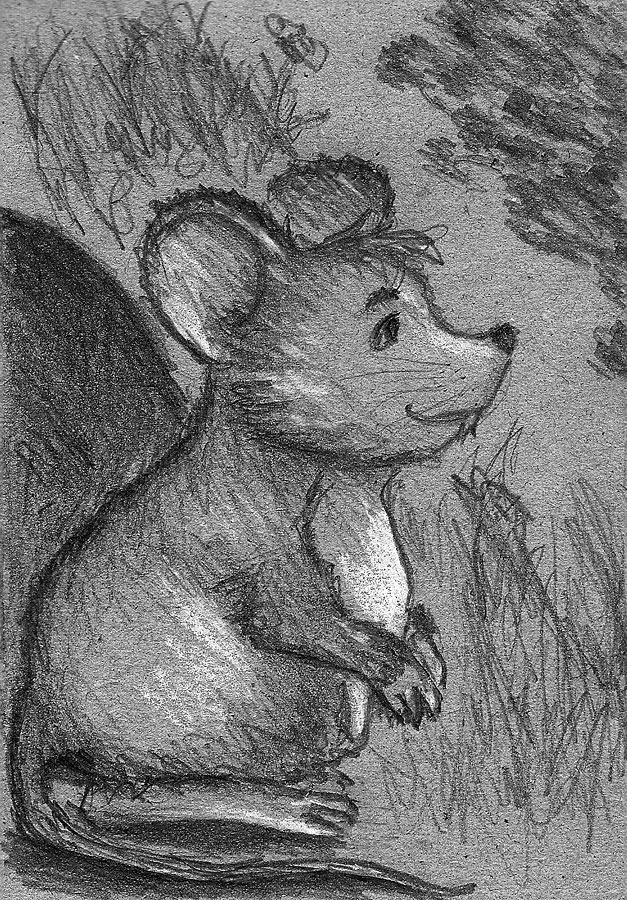 Fat mouse by Sova-mouse