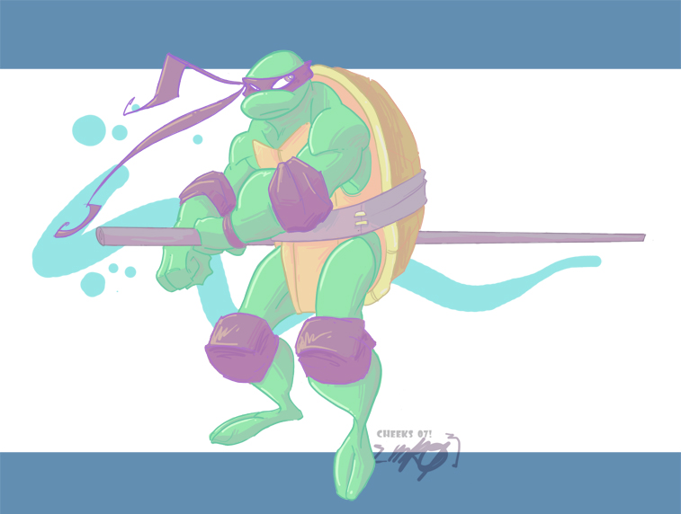 donatello by AndresPerezdelgado