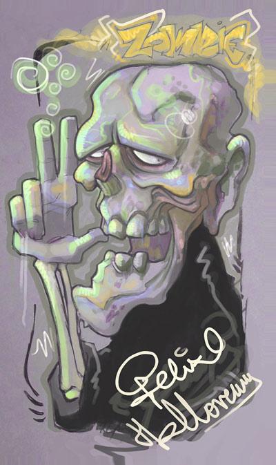 zombie by AndresPerezdelgado