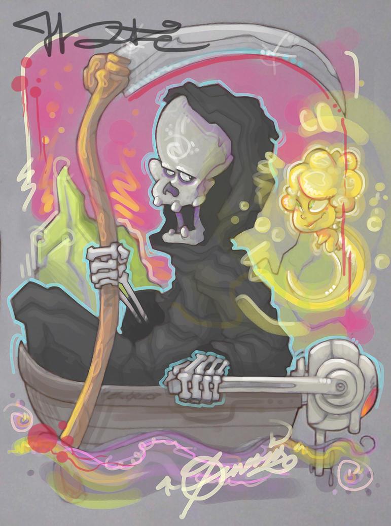 La luz de la Muerte by AndresPerezdelgado