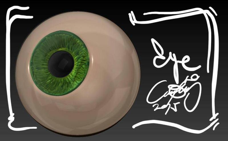 eye by AndresPerezdelgado