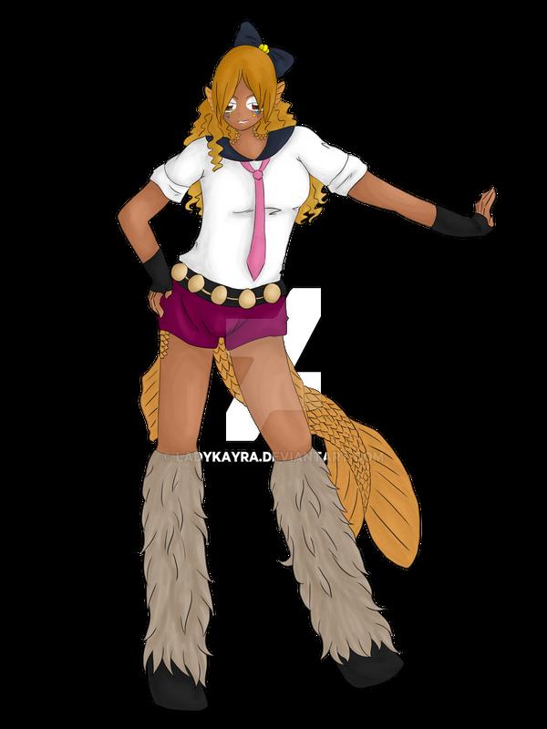 Gyaru fish Girl